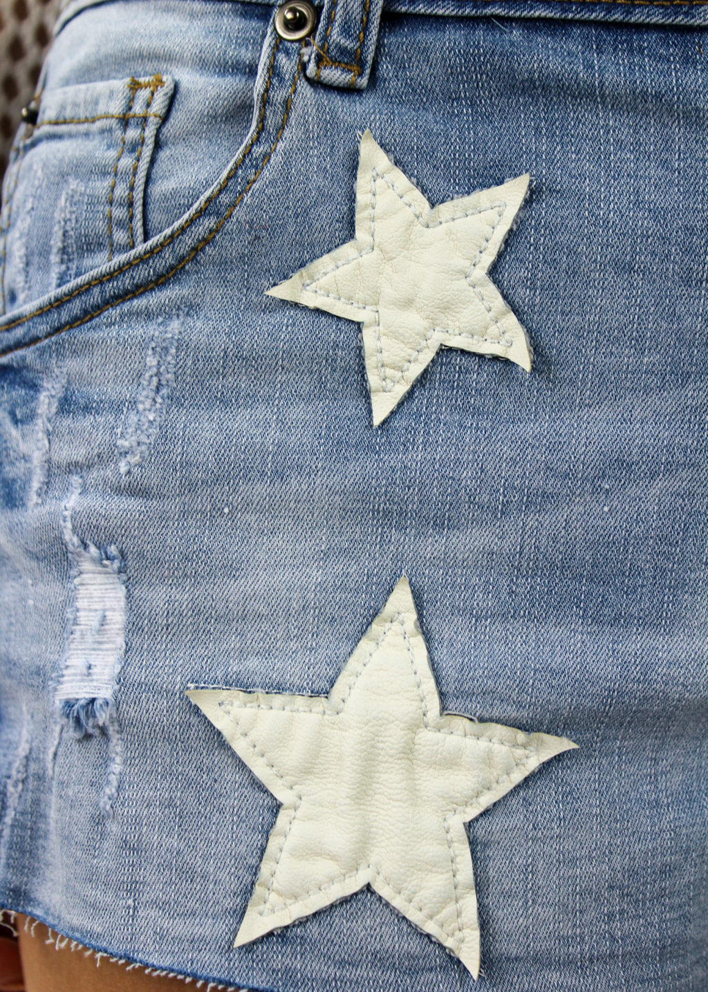 Only Rock N Roll Shorts ★ Denim