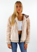 Baby It's Cold Outside Jacket ★ Cream