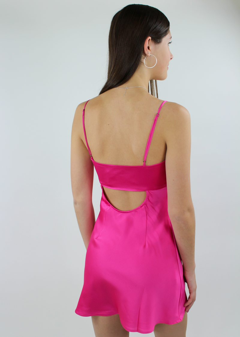 Untouchable Dress ★ Hot Pink