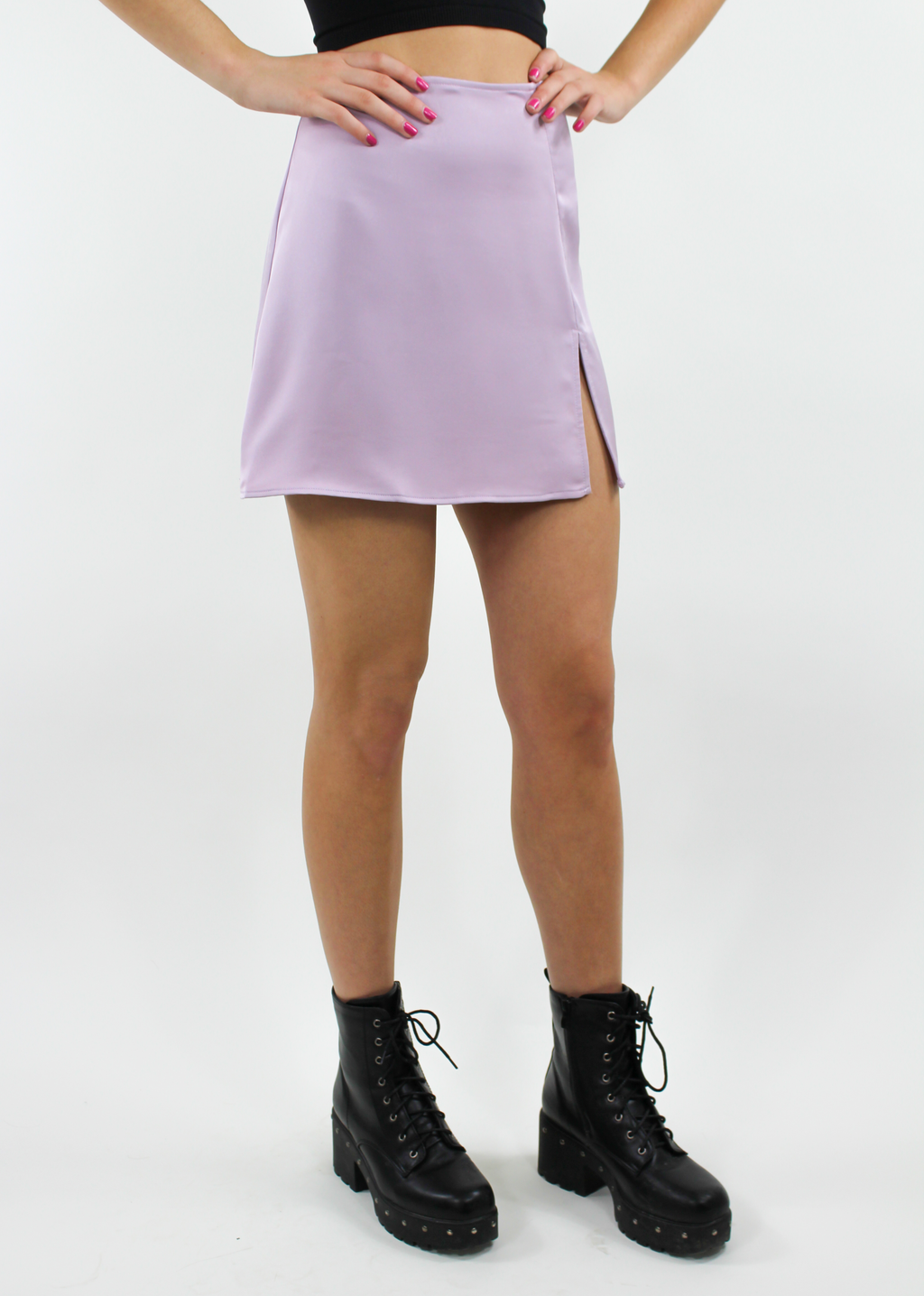 Say Less Skirt ★ Lilac