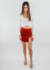 Down In Flames Skirt ★ Chili - Rock N Rags