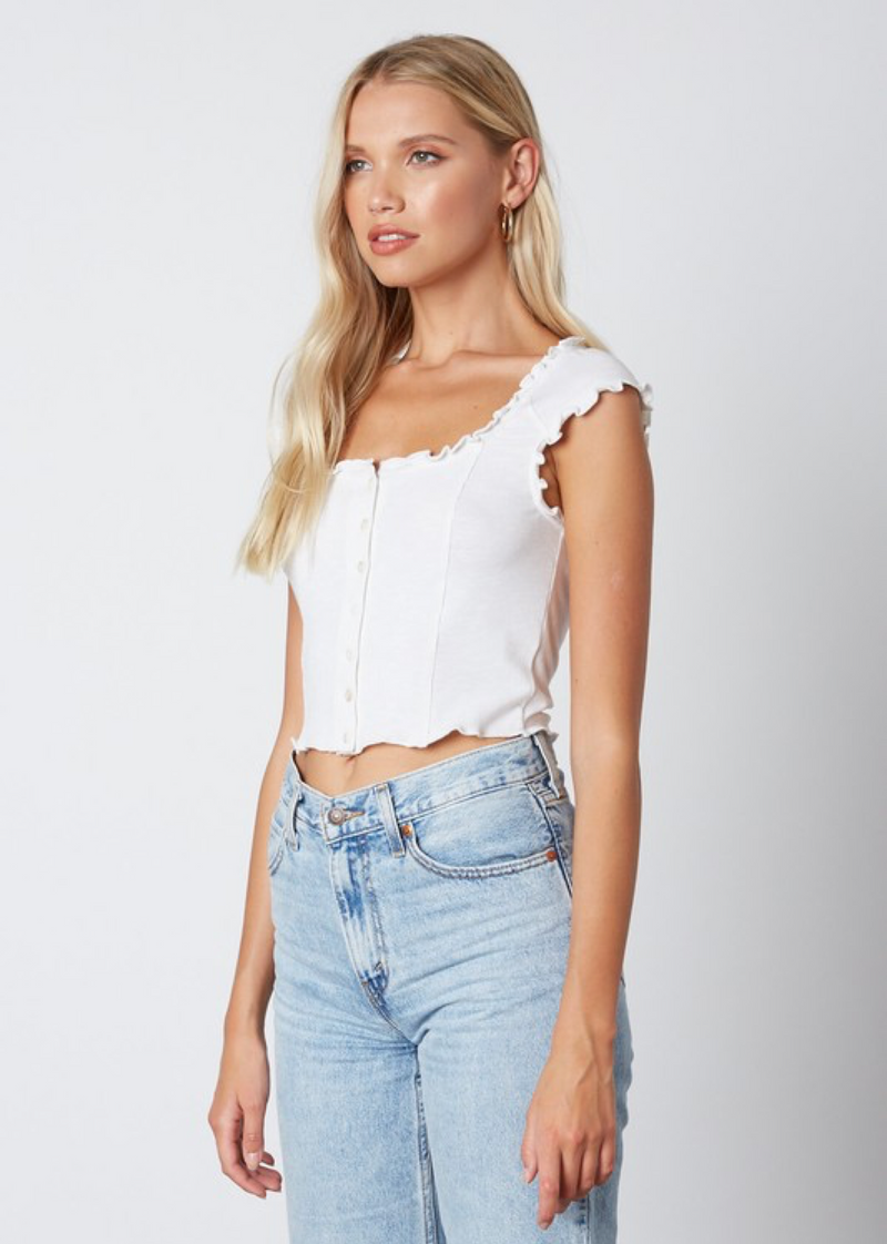 Crazy In Love Top ★ White - Rock N Rags