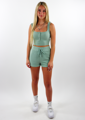 Paradise City Shorts ★ Sage Green