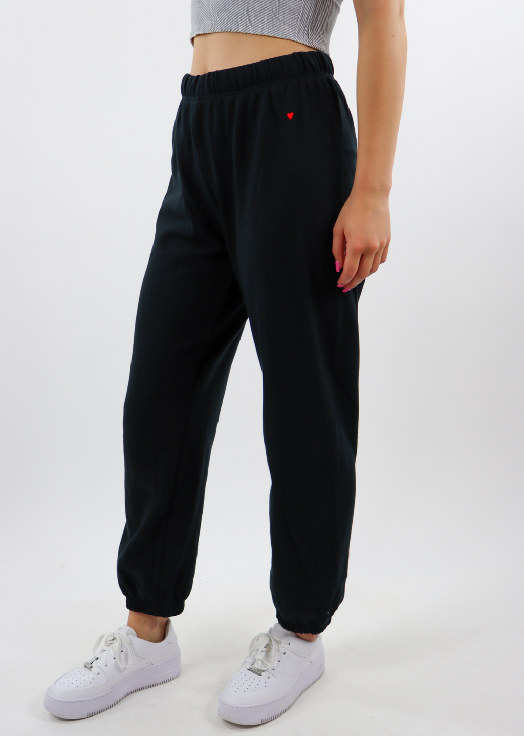 Heart Of Gold Sweatpants ★ Black