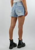 Rewrite The Stars Shorts ★ Light Wash Denim - Rock N Rags