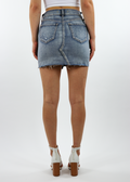 Eyes On You Skirt ★ Medium Wash Denim - Rock N Rags