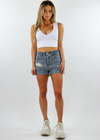 Loyal Jean Shorts ★ Medium Wash Denim - Rock N Rags