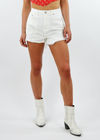 Loyal Jean Shorts ★ White Denim - Rock N Rags