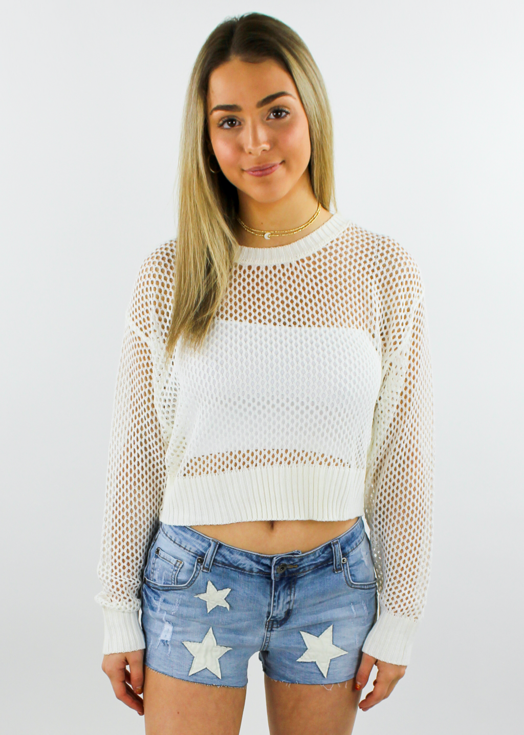 Thriller Sweater ★ White - Rock N Rags