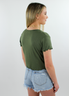 Baby I'm Yours Tee ★ Olive - Rock N Rags