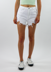 A Star Is Born Shorts ★ White Denim - Rock N Rags