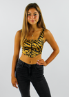 Eye Of The Tiger Corset Top ★ Tiger Stripes