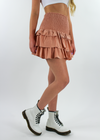 Whats Poppin Skirt ★ Rose - Rock N Rags
