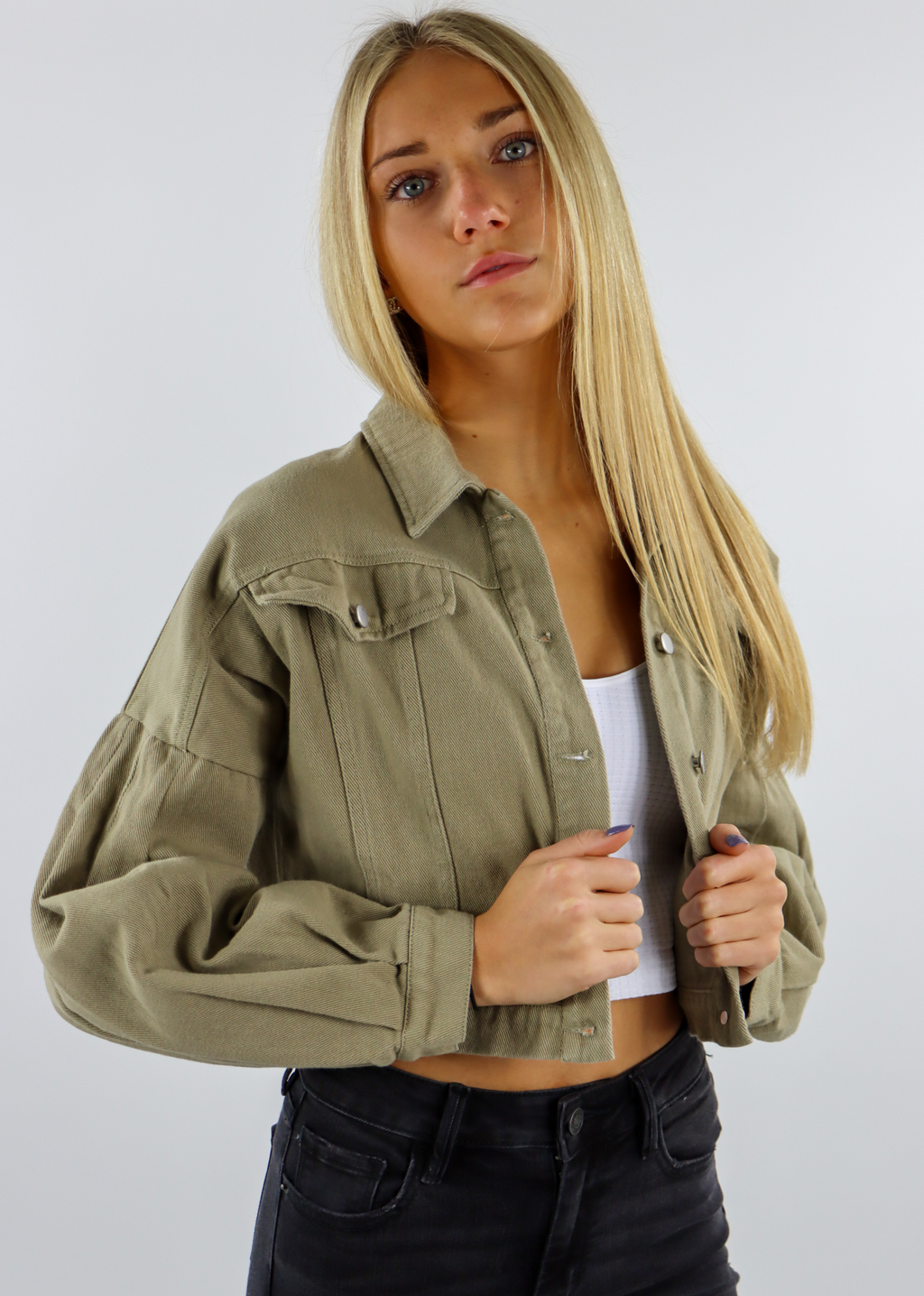 My Type Jacket ★ Olive Green