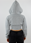 Best You Ever Had Cropped Corset Hoodie ★ Grey