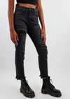 Walk On the Wild Side Straight Leg Jeans ★ Black Denim