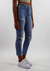 Genie In A Bottle Straight Leg Jeans ★ Medium Wash Denim