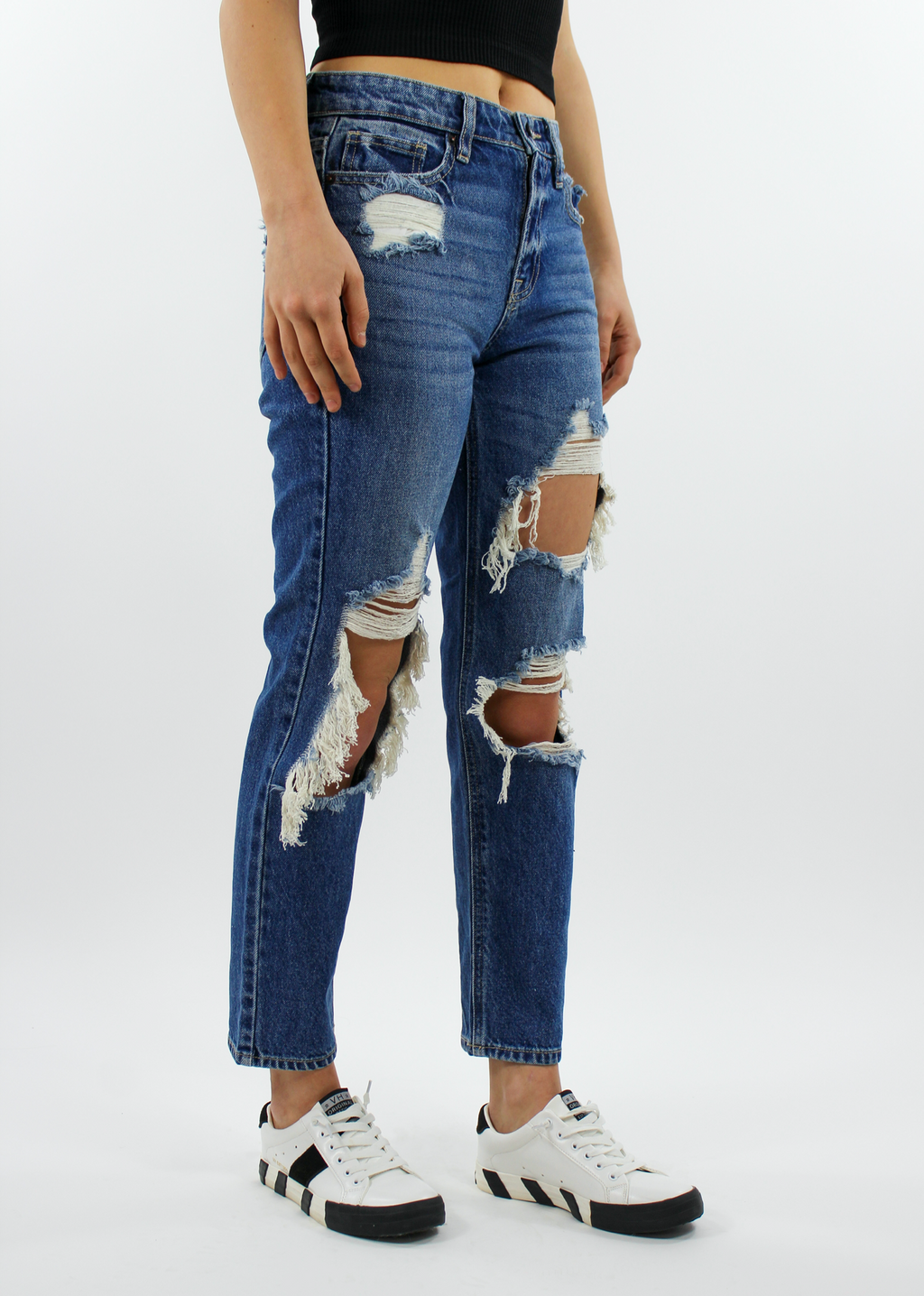 Worth It Boyfriend Jean ★ Dark Denim - Rock N Rags