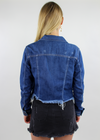 Who Run The World Jacket ★ Dark Denim
