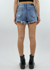Truth Hurts Shorts ★ Medium Wash Denim - Rock N Rags