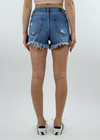 Like A Rolling Stone Shorts ★ Dark Wash Denim - Rock N Rags