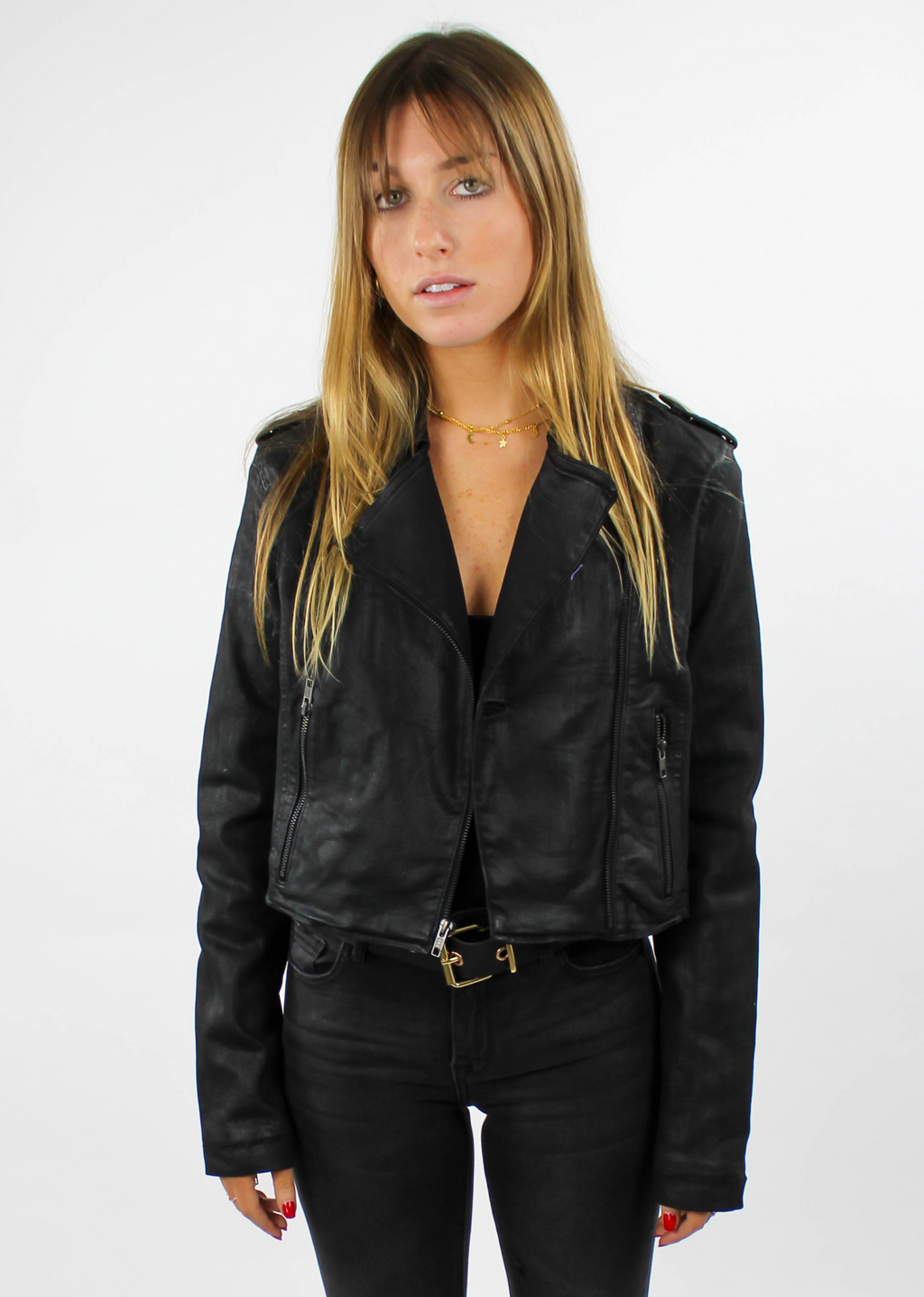 Don't Kill My Vibe Jacket ★ Black - Rock N Rags