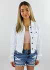 Almost Famous Jacket ★ White Denim - Rock N Rags