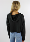 Back Home Cropped Sweatshirt ★ Black