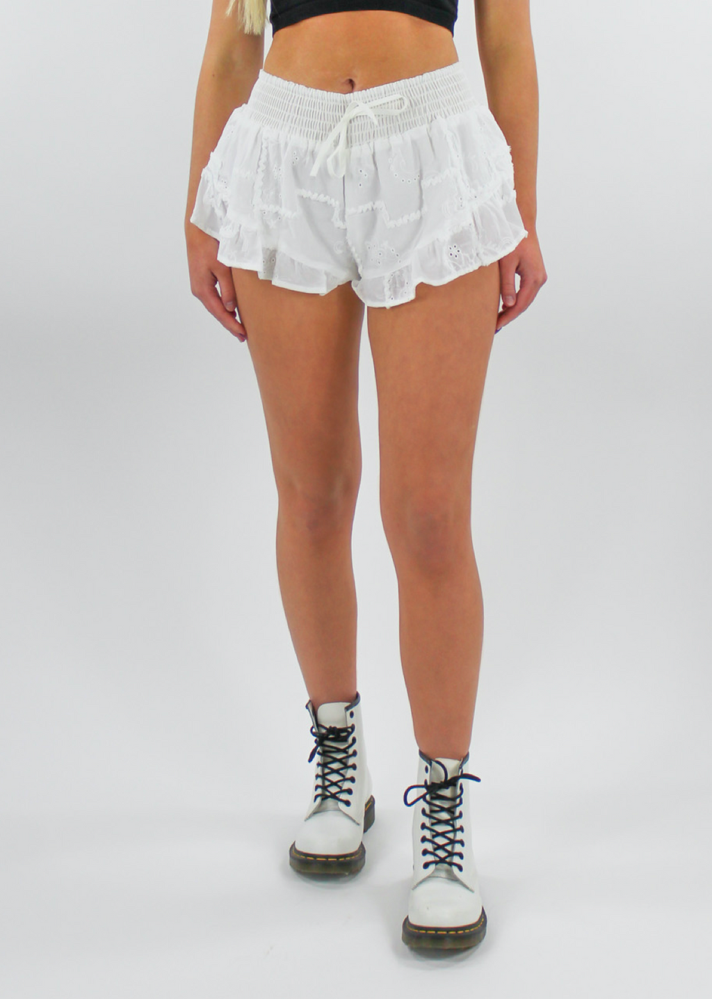 Halo Short ★ White - Rock N Rags