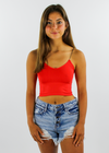 The Dreamer Tank ★ Red - Rock N Rags
