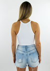 Boss Babe Tank ★ White - Rock N Rags