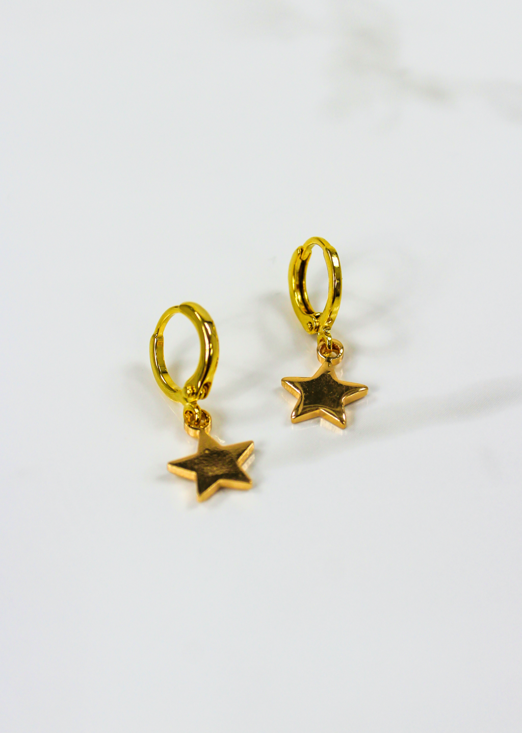 Light Up The Night Dangle Earrings ★ Gold - Rock N Rags