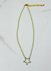 Shooting Star Necklace ★ Gold - Rock N Rags
