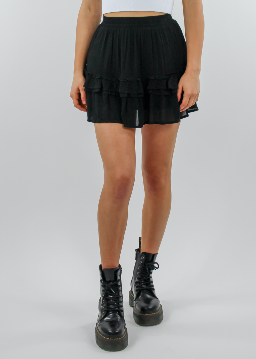 Adore You Skirt ★ Black - Rock N Rags
