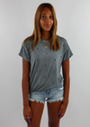Sugar Sugar Full Length Tee ★ Grey