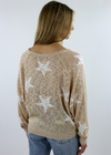 Star Of The Show Sweater ★ Nude - Rock N Rags