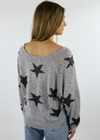 Star Of The Show Sweater ★ Grey - Rock N Rags