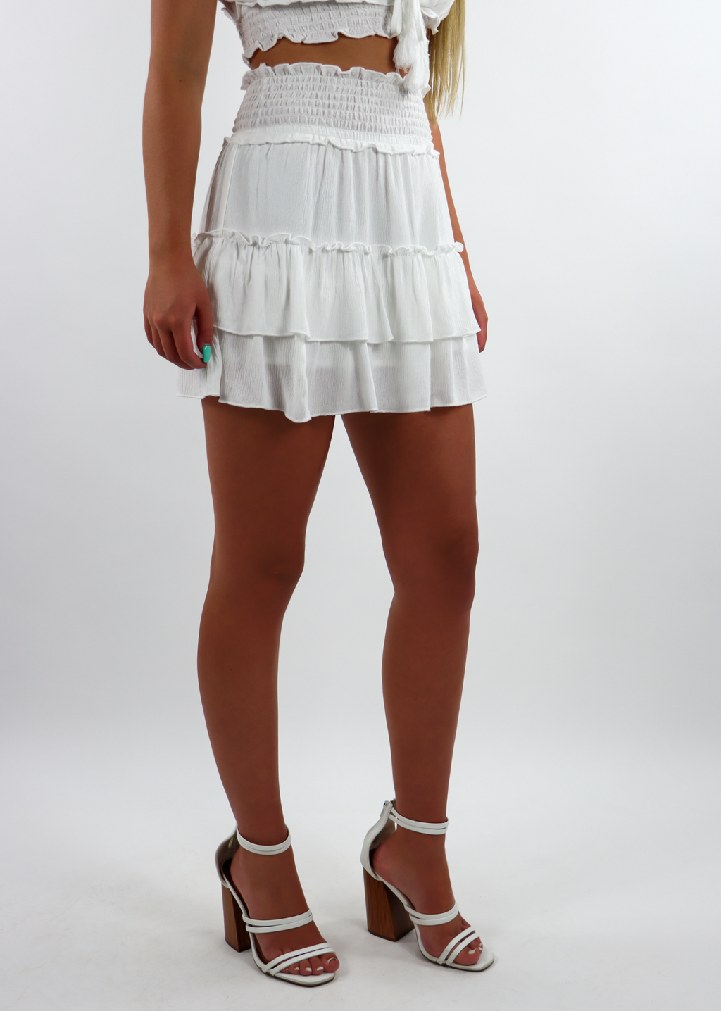 Start Me Up Skirt ★ White