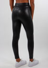 Wild For The Night Leather Leggings ★ Black