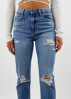 Level Up Straight Leg Jeans ★ Medium Wash