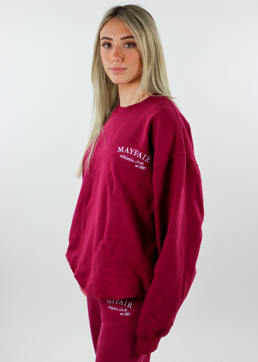 Mayfair Athletics Crewneck ★ One Size