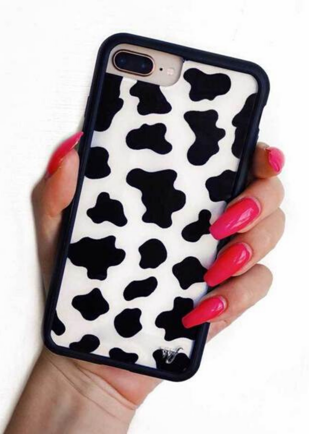 Moo Moo Wildflower iPhone Case ★ Cow Print - Rock N Rags