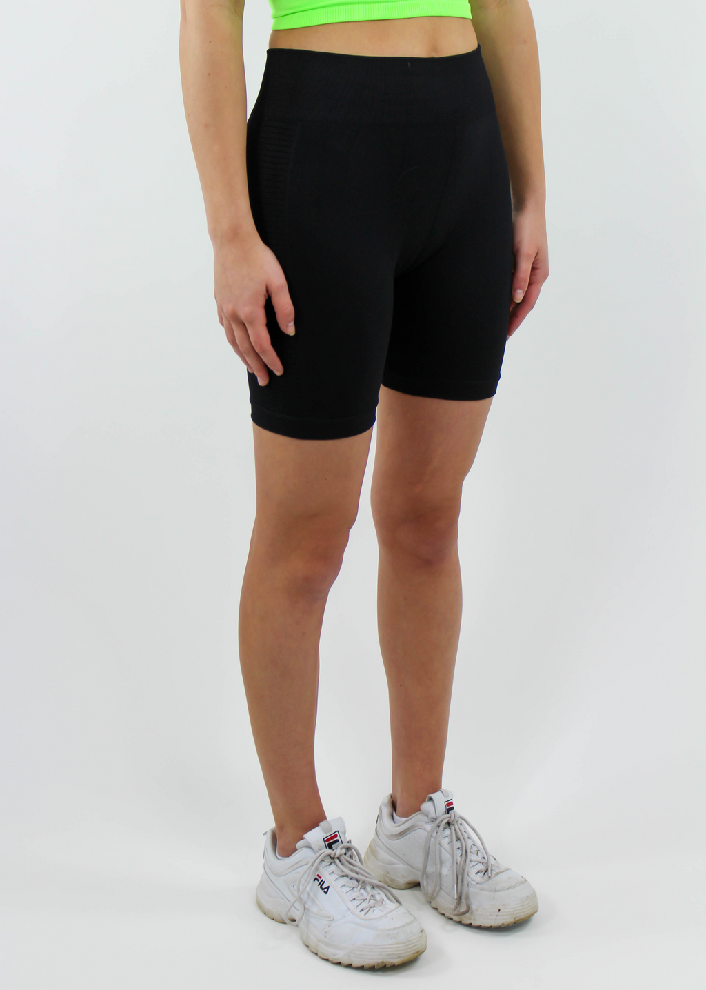 Remember You Biker Shorts ★ Black