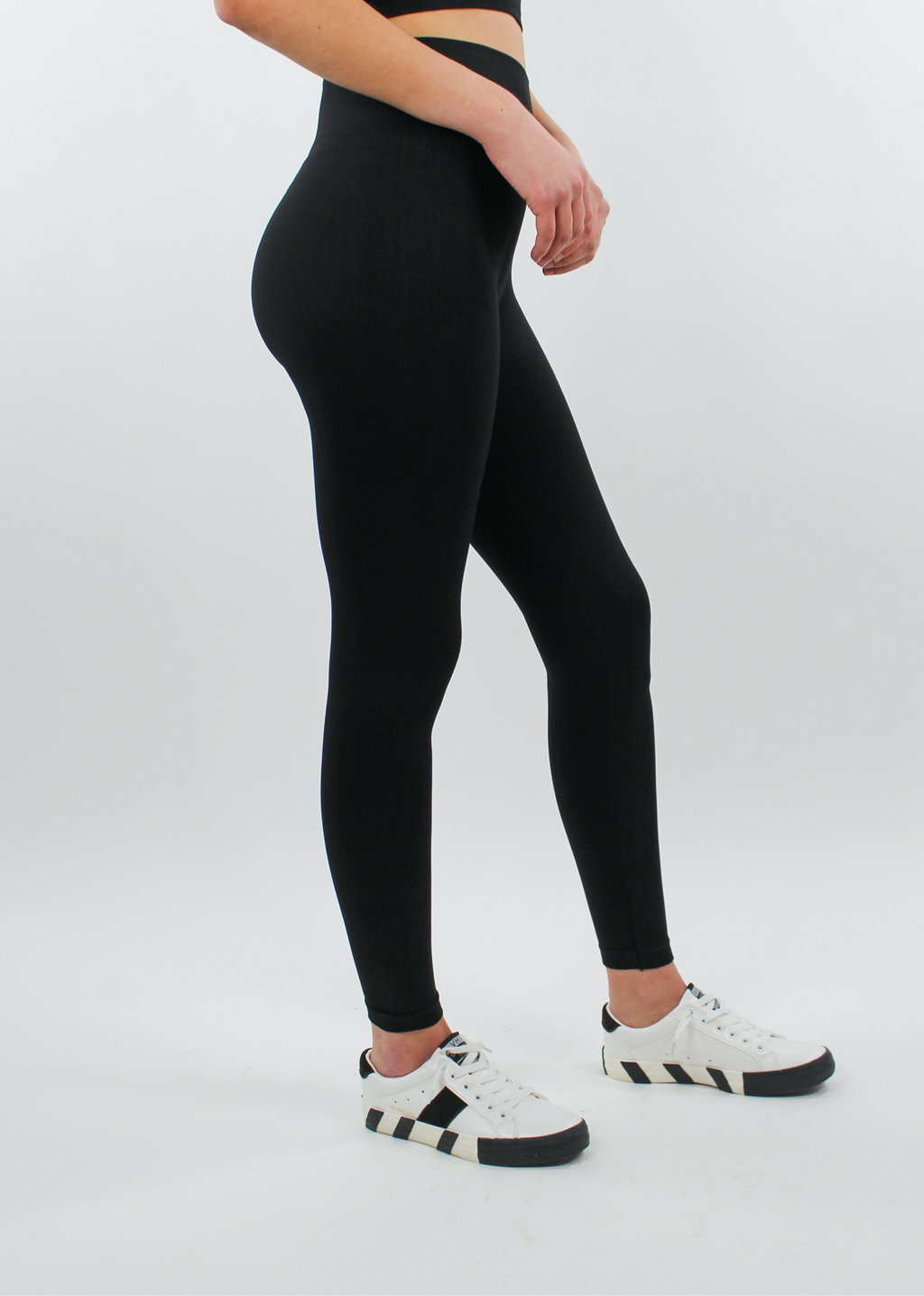 Work It Out Leggings ★ Black - Rock N Rags