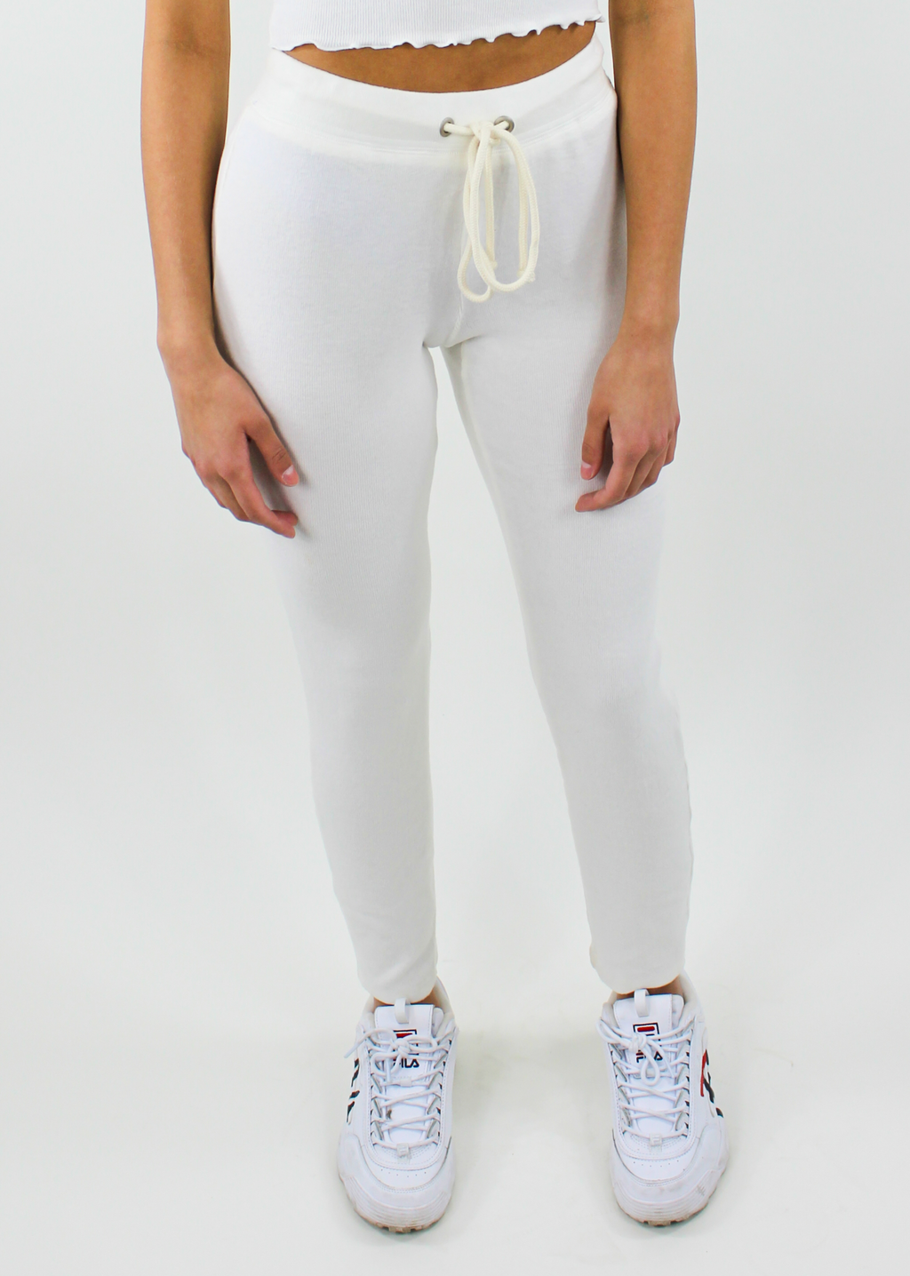 Crazy Dream Sweats ★ White - Rock N Rags