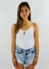 Secrets Cami ★ White - Rock N Rags