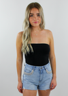 Uptown Girl Tube Top ★ Black - Rock N Rags
