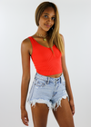 Take The Plunge Full Length Top ★ Red - Rock N Rags