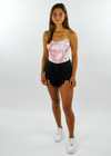 Keep Your Head Up Tank ★ Coral Tie Dye - Rock N Rags