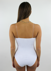 Edge Of Seventeen Bodysuit ★ White